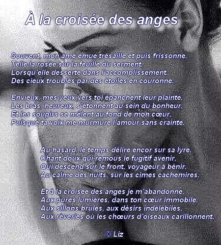 À la croisée des anges